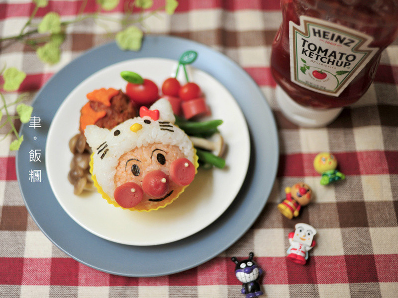 【亨氏番茄醬】麵包超人裝萌