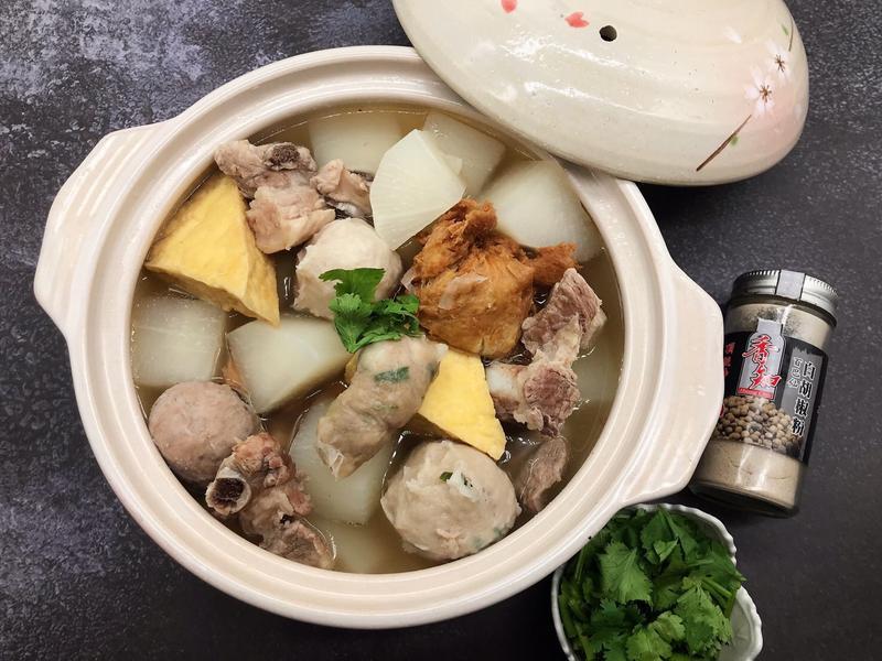 綜合蘿蔔排骨湯