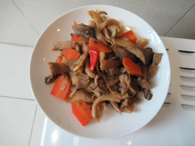 甜麵醬平菇
