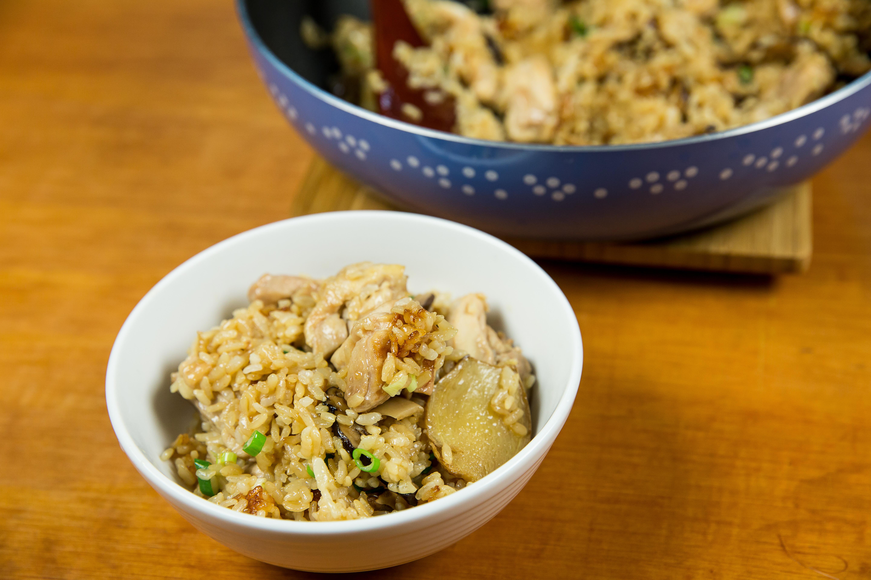 麻油雞飯-豆油伯金美好醬油