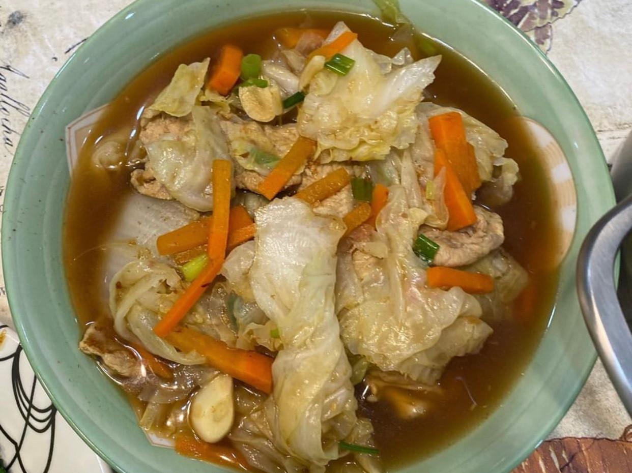 沙茶豬炒白菜