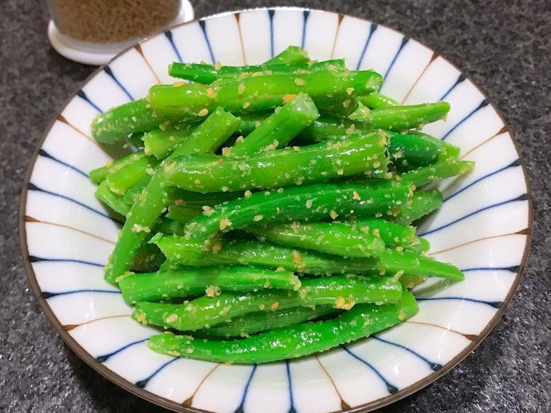 涼拌四季豆~全素