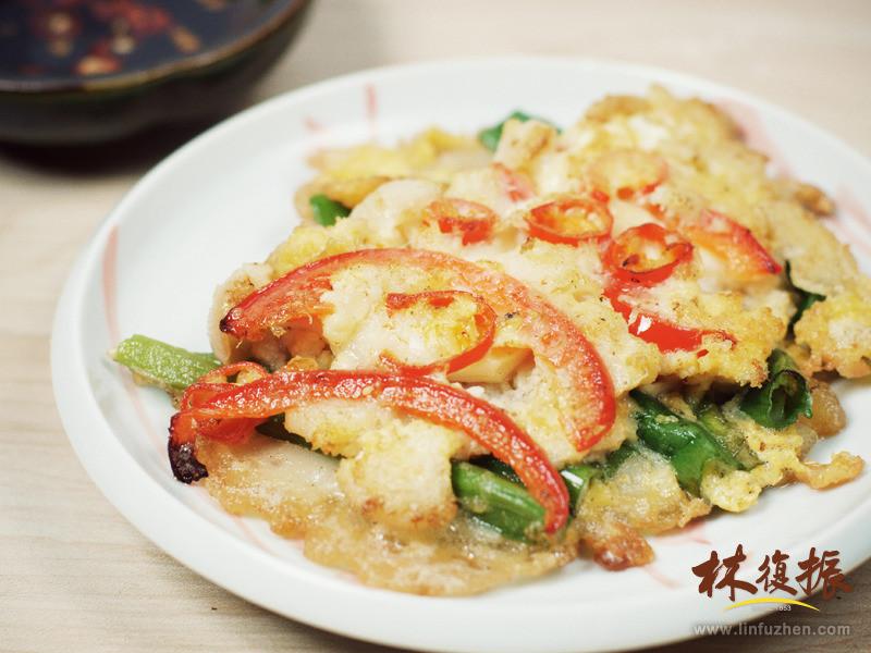 韓風蟹肉蔥煎餅
