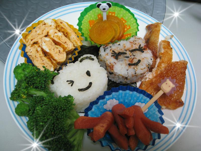 [親子飯糰]小熊飯糰