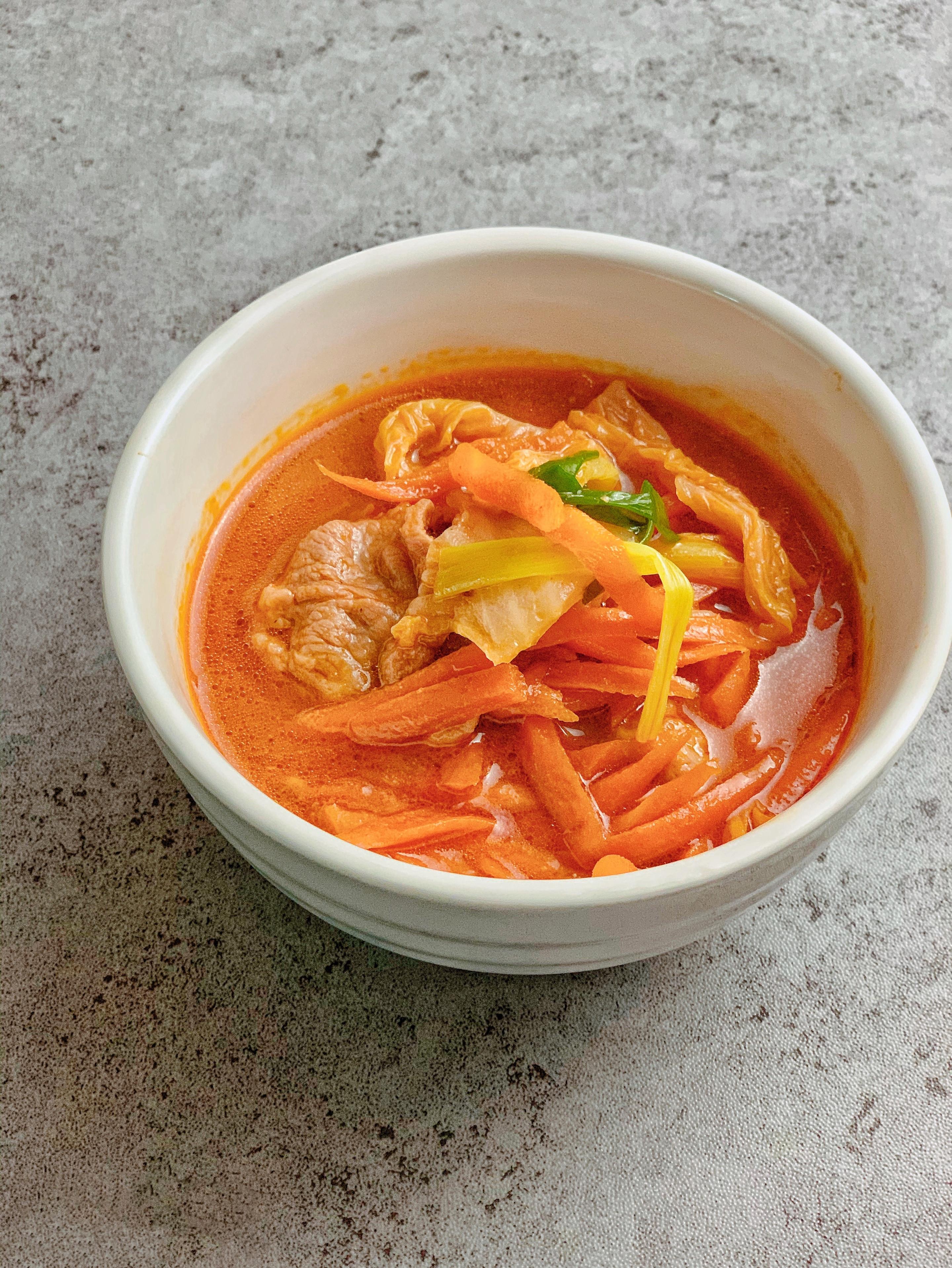韓式辣醬豬肉湯
