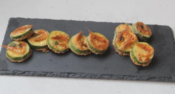 櫻花蝦煎櫛瓜-5分鐘料理
