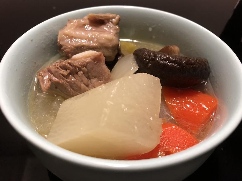 香菇蘿蔔排骨湯(增加免疫力)