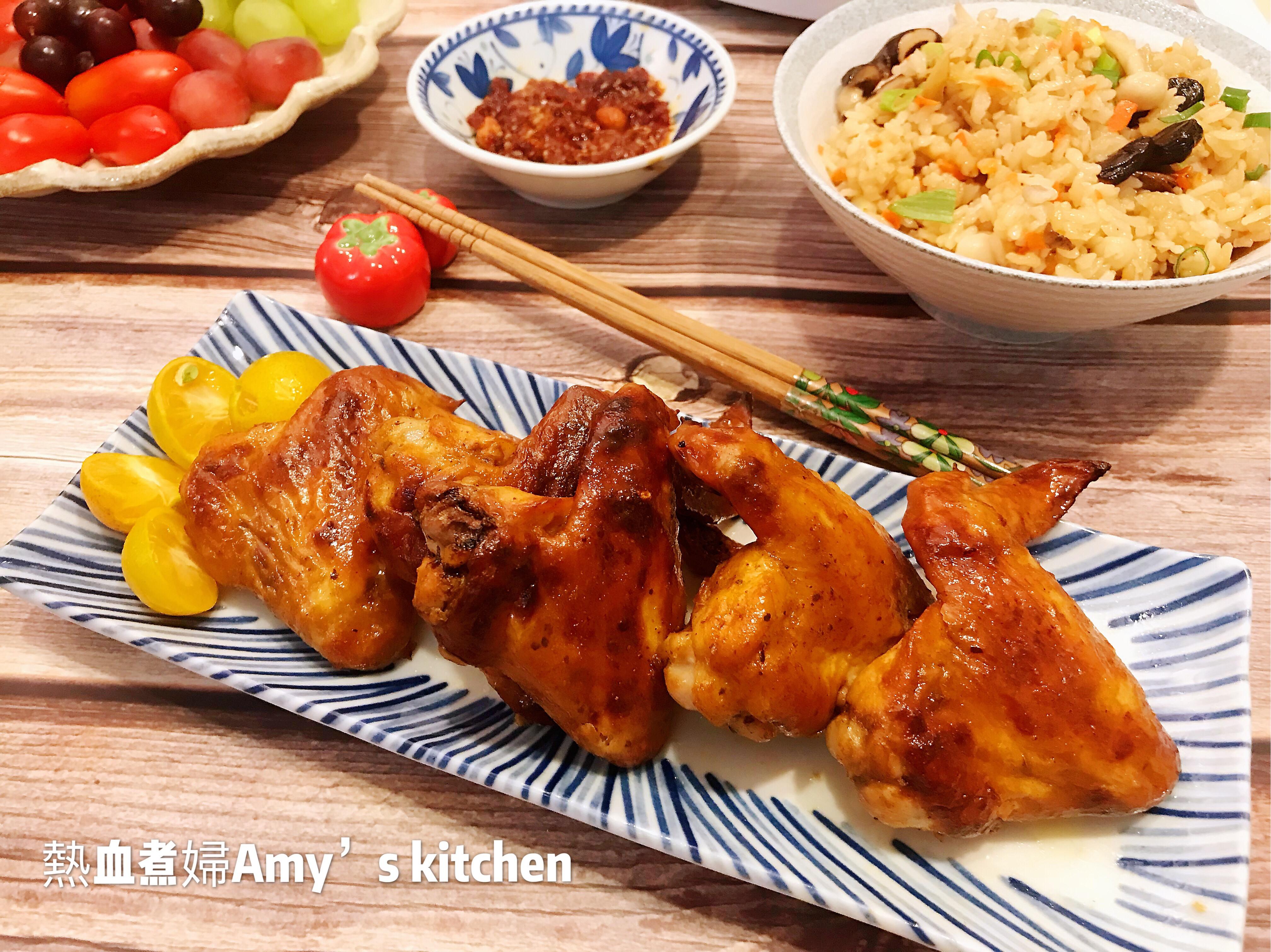 烤雞翅  (飛利浦智慧萬用電子鍋)