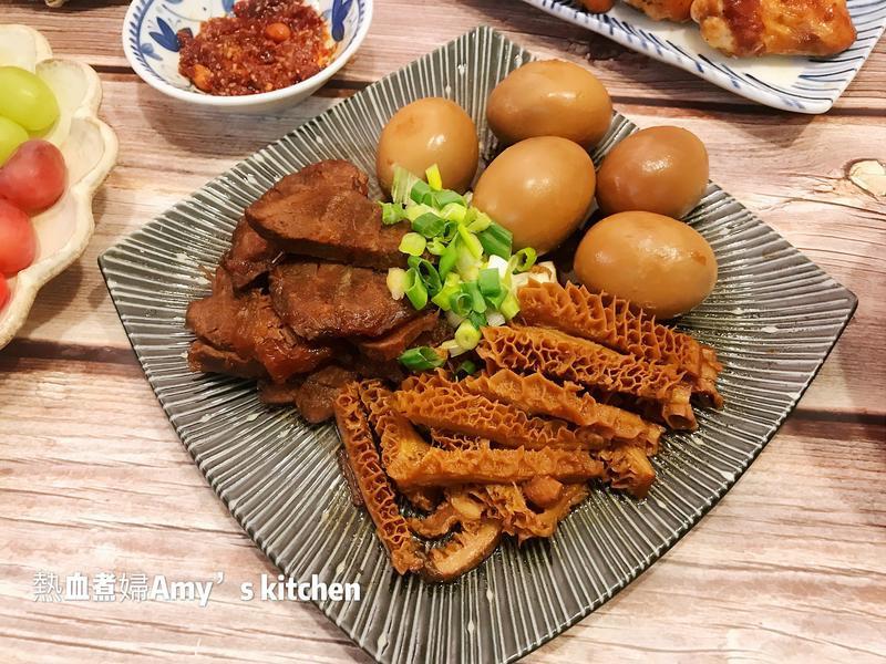魯綜合拼盤(魯蛋、牛腱、牛肚)