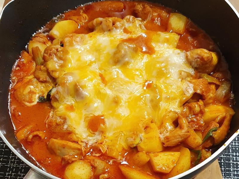 韓式辣炒雞