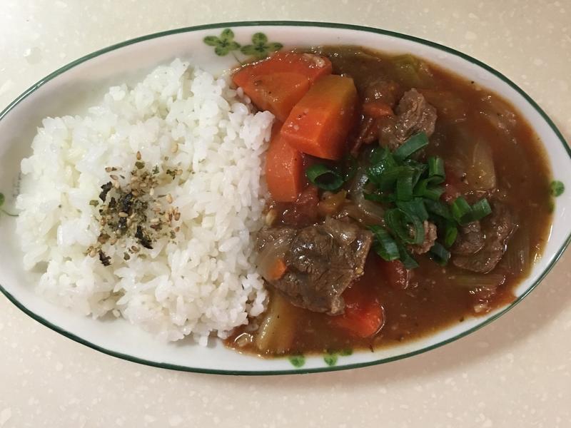 簡單美味番茄燉牛肉燴飯