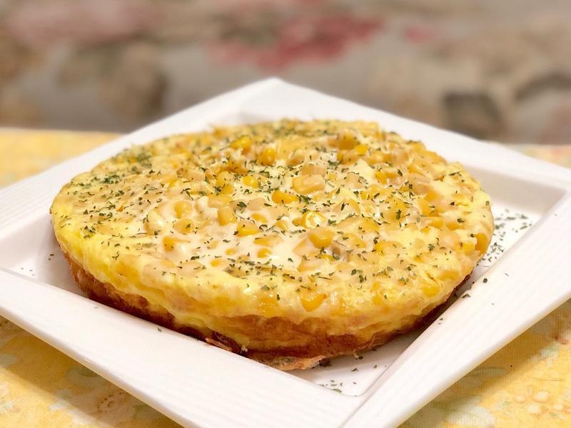 玉米起司烘蛋(氣炸鍋版)