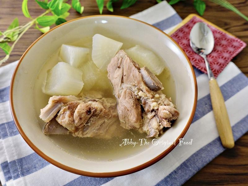 蘿蔔排骨湯