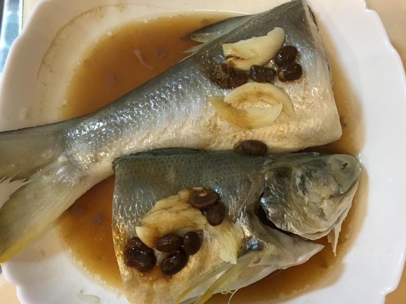 蔭醬蒸午魚