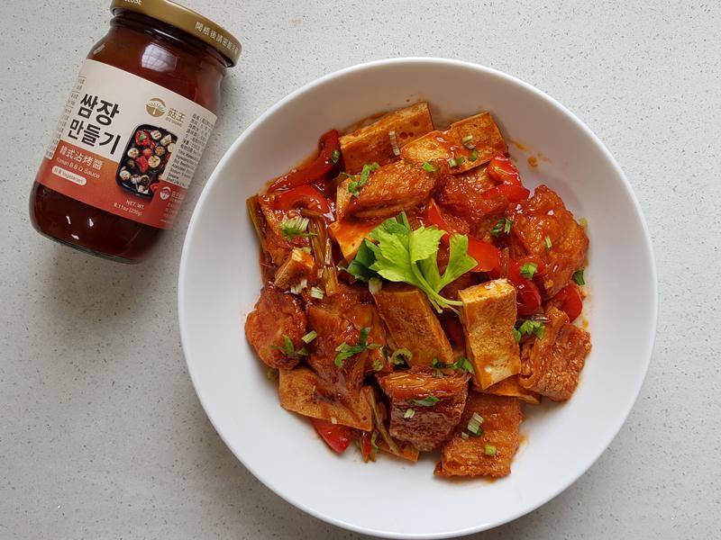 糖醋豆包 (韓式風味)
