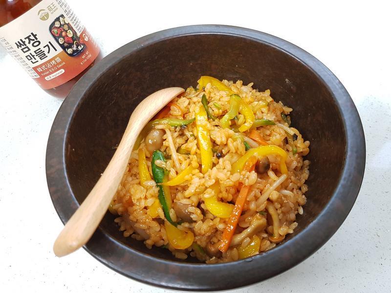 蔬食韓式拌飯