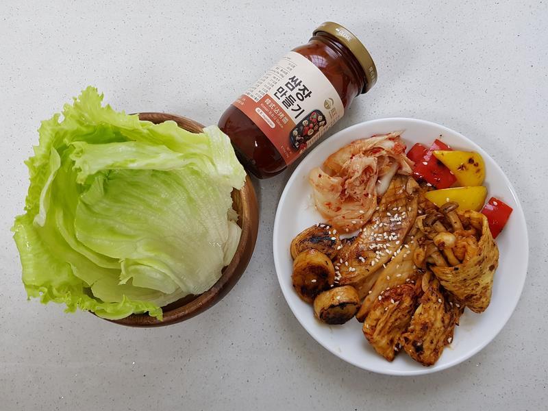 蔬食韓式燒烤拼盤
