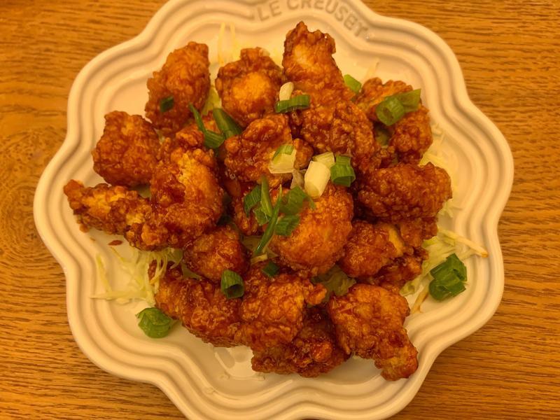 韓式香酥雞(氣炸鍋)卜蜂無骨香酥雞