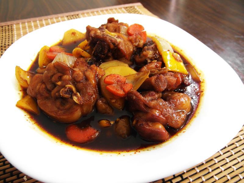 韓國安東燉雞-한식안동찜닭