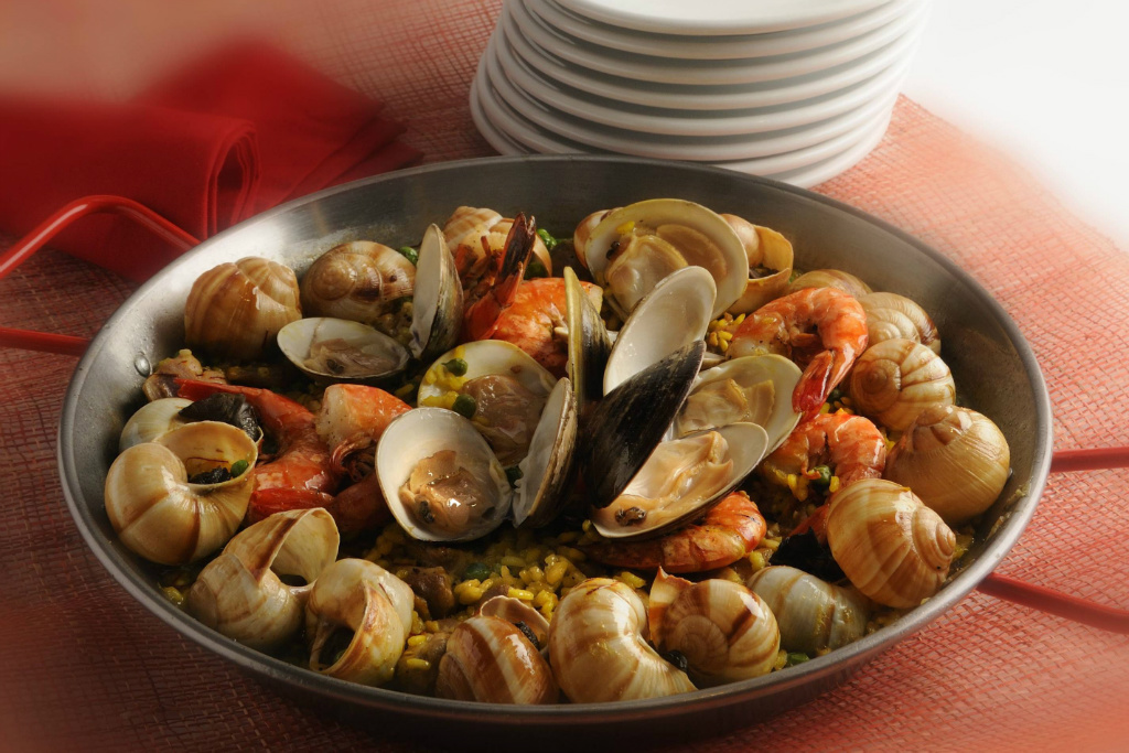 【西班牙料理】西班牙海鮮飯 Paella