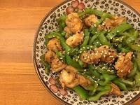 青椒炒雞腿肉