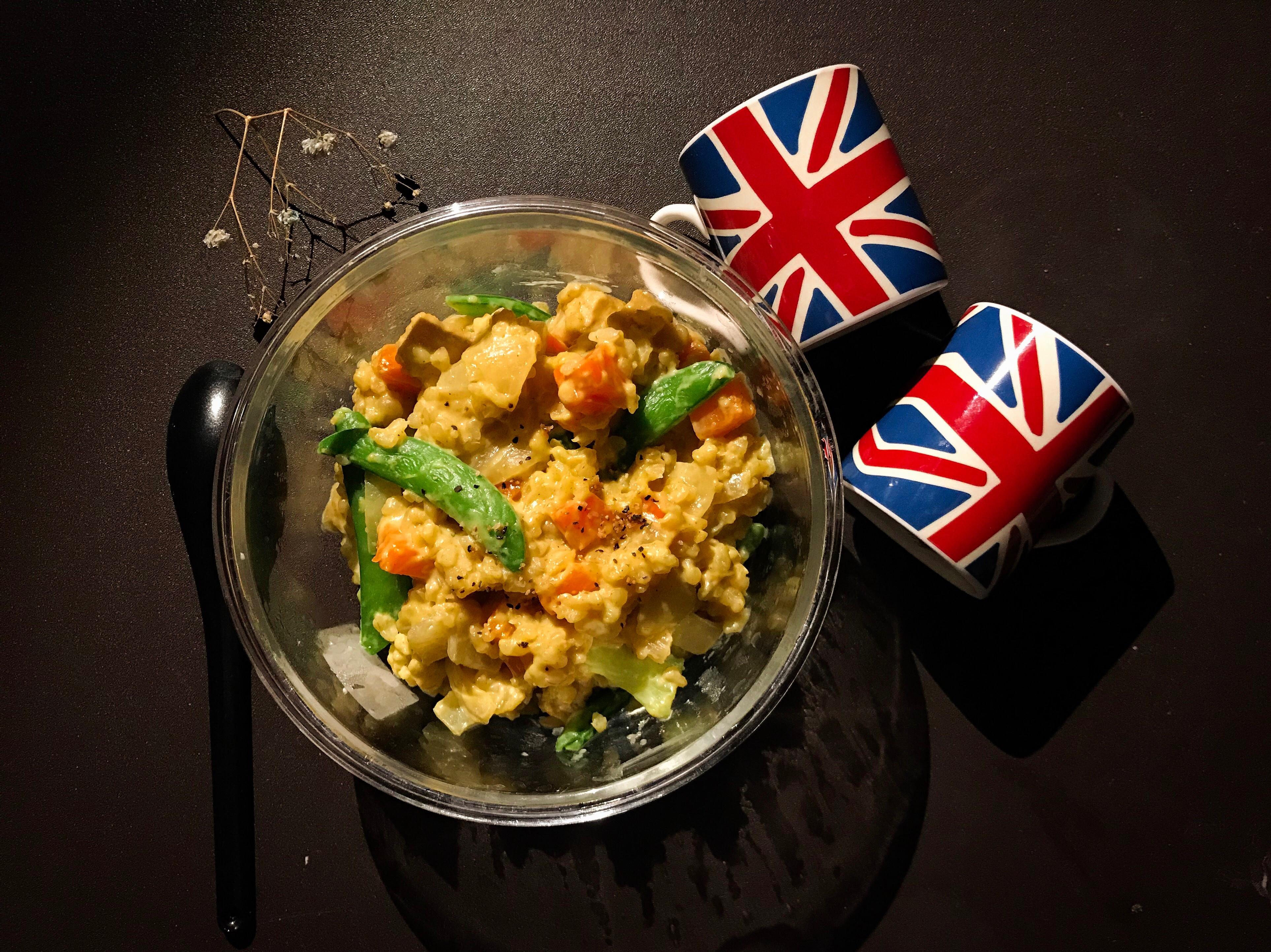 蔬菜咖喱豬豬燉飯