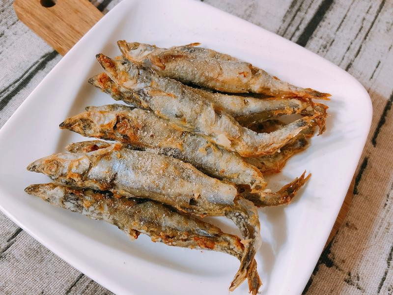 氣炸鍋料理-氣炸柳葉魚