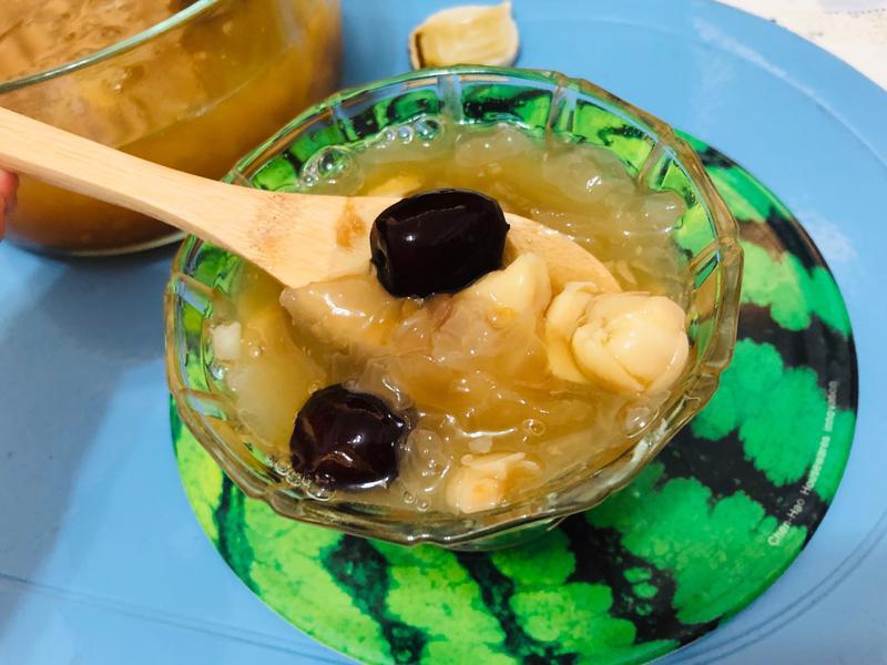 銀耳蓮子湯(飛利浦萬用電子鍋)