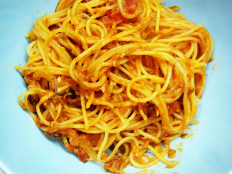 [剩菜變美味]鮪魚義大利麵