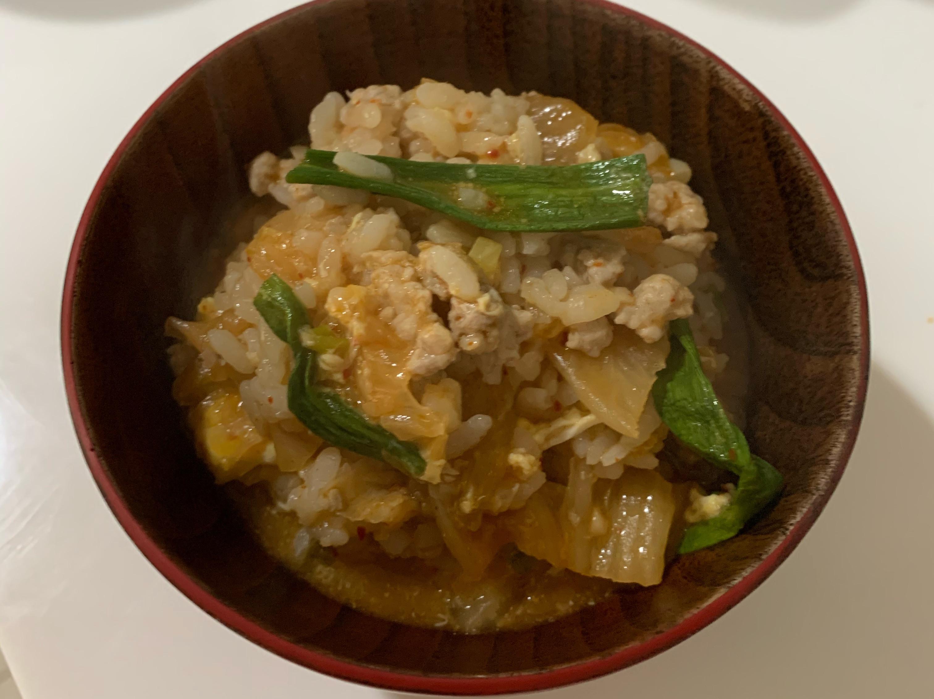 豬絞泡菜雜炊