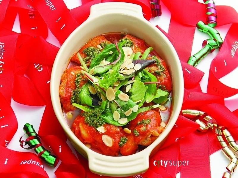 【西班牙料理】西班牙青醬蕃茄雞肉