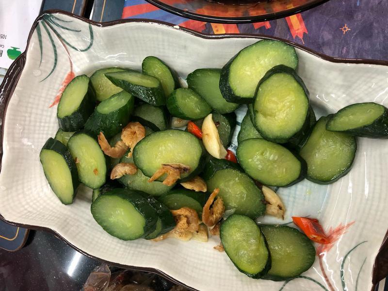 蒜炒小黃瓜