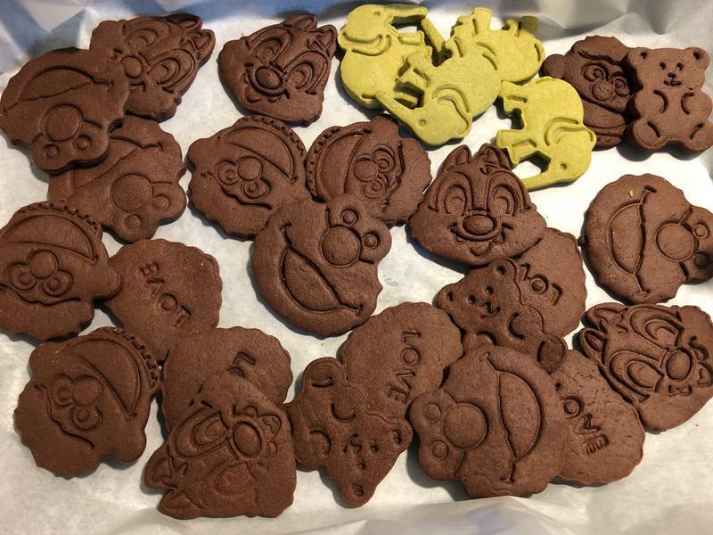 巧克力模型餅乾