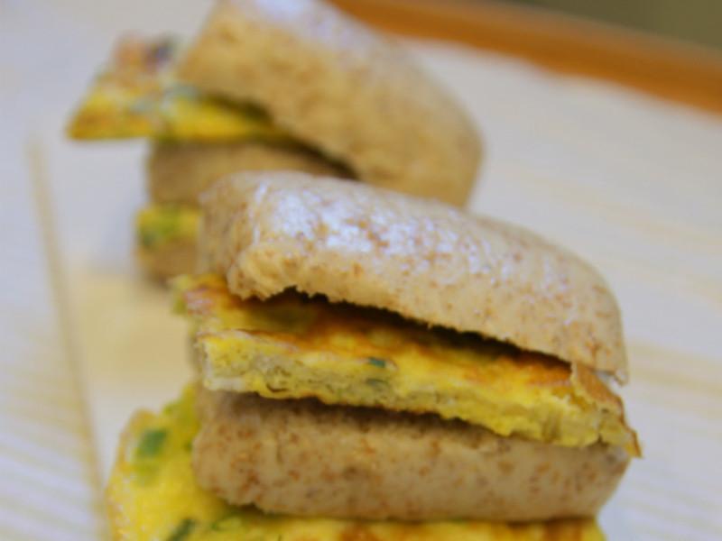 【Pati Tree的幸福廚房】饅頭夾蛋