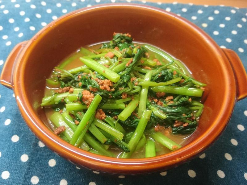 肉醬空心菜 (生酮/低醣)