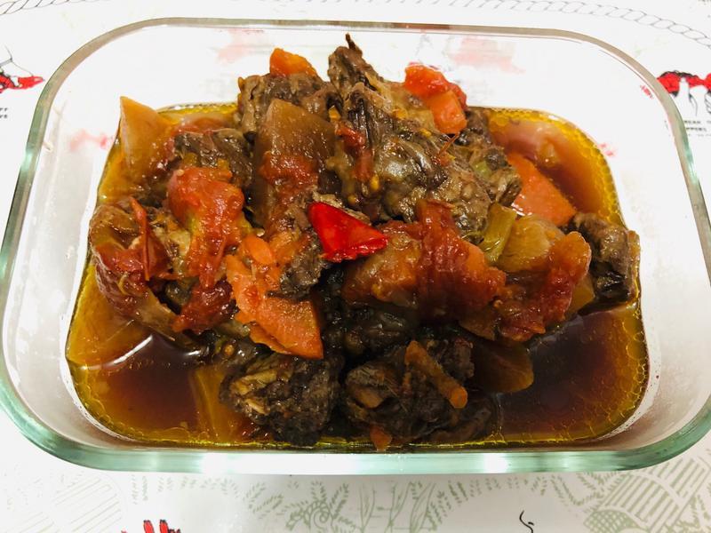 蕃茄煲牛肉(飛利浦智慧萬用電子鍋)