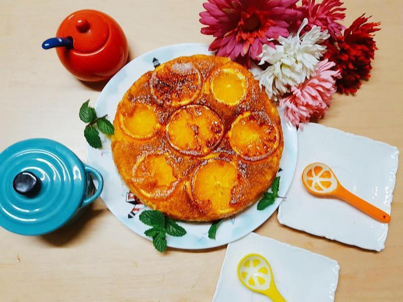 香橙蛋糕~飛利浦智慧萬用電子鍋