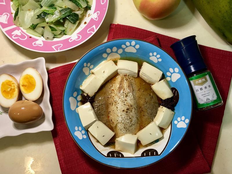 香草虱目魚 電鍋料理