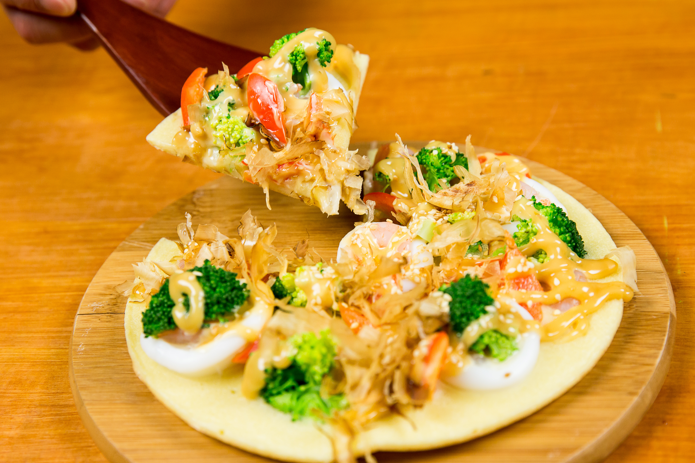 大阪燒(御好燒)-豆油伯甘田醬油