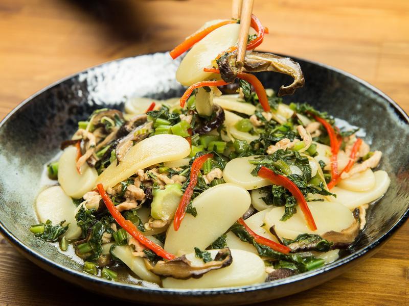 中式炒年糕-豆油伯金美滿醬油