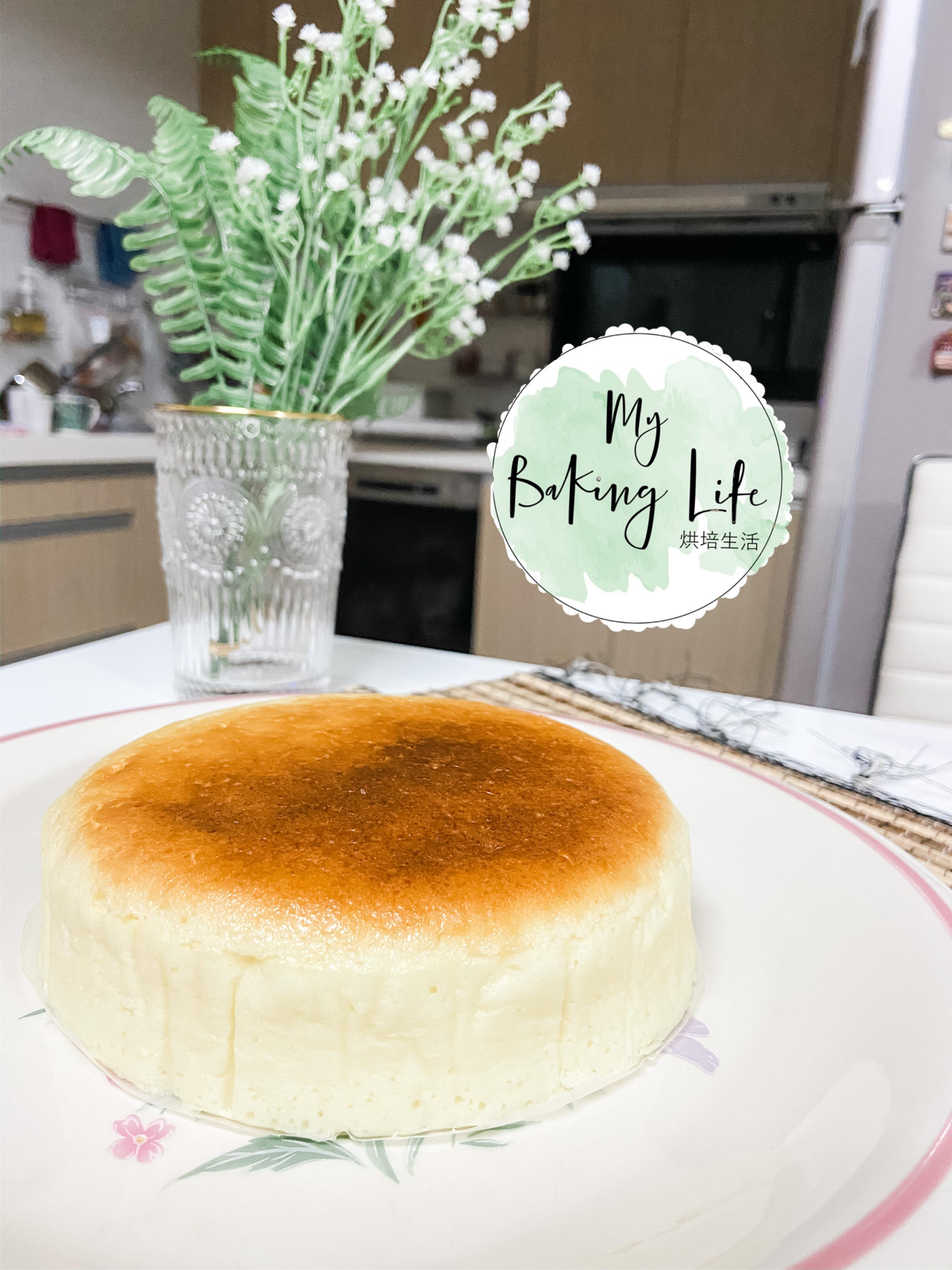 """簡單做輕乳酪蛋糕6"""""""