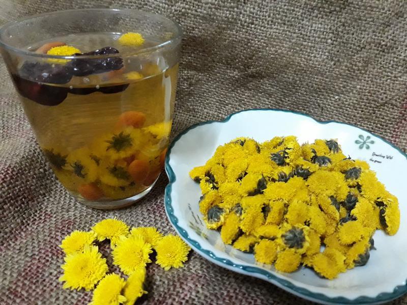 秋天杭菊風味養生茶