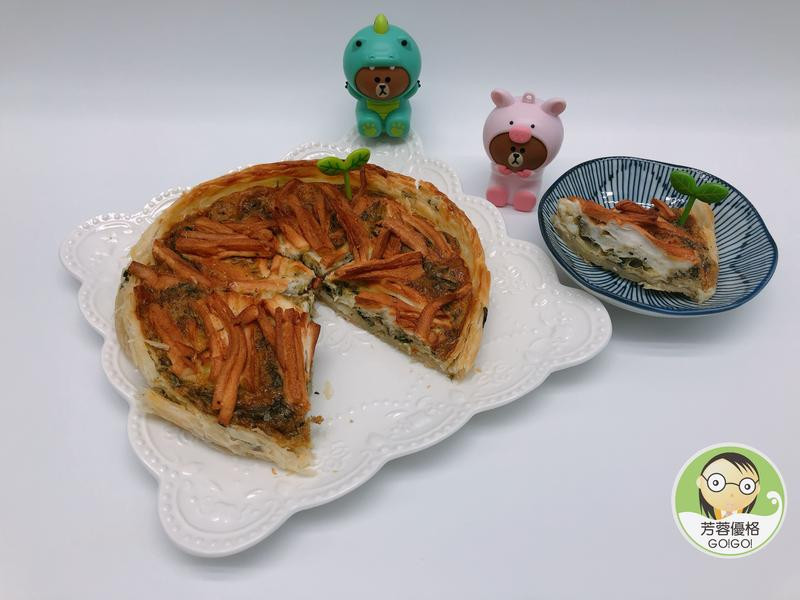 九層塔鱈寶脆餅~氣炸鍋料理