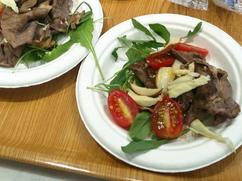 義式牛肉芝麻菜沙拉