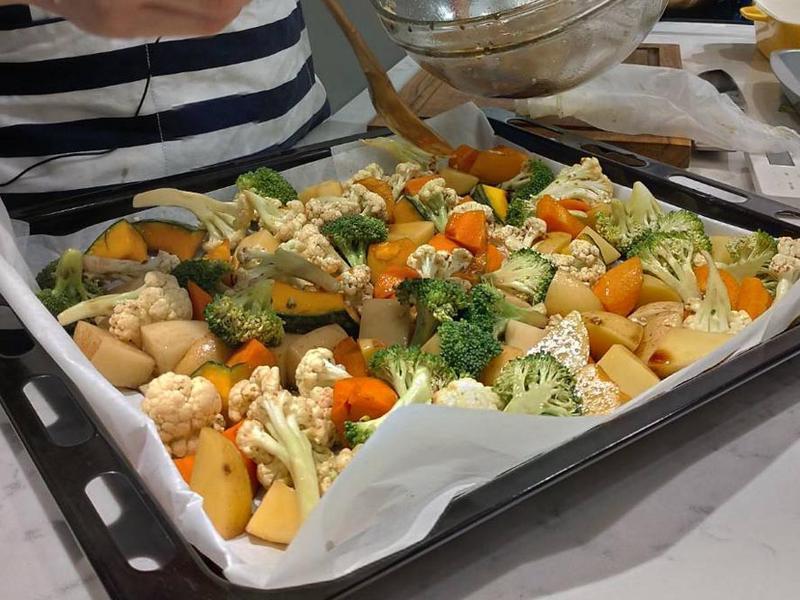 巴薩米克醋烤綜合蔬菜