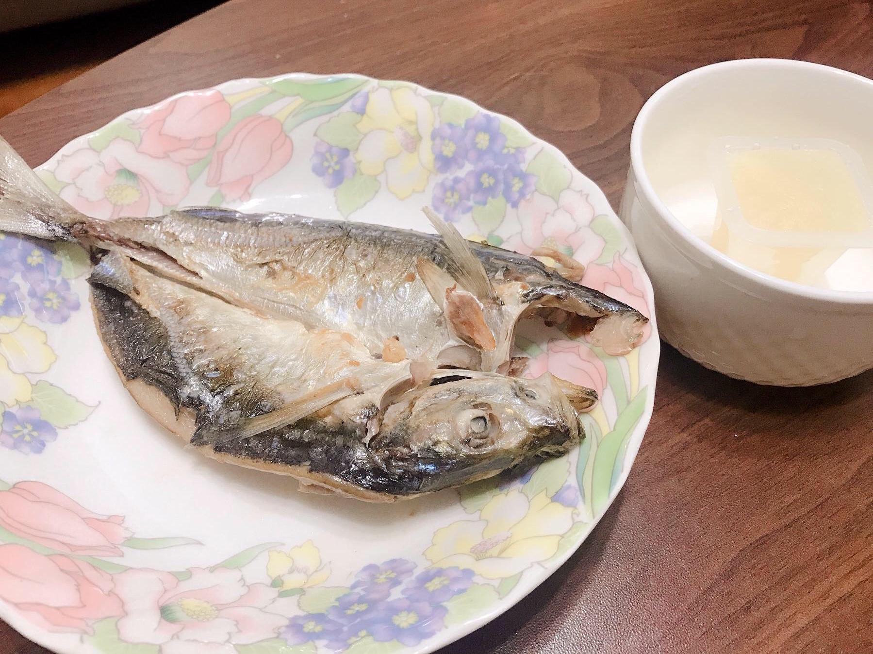簡單好吃的竹莢魚一夜干