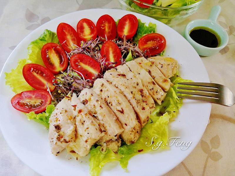 義式香草雞肉沙拉(電鍋版)