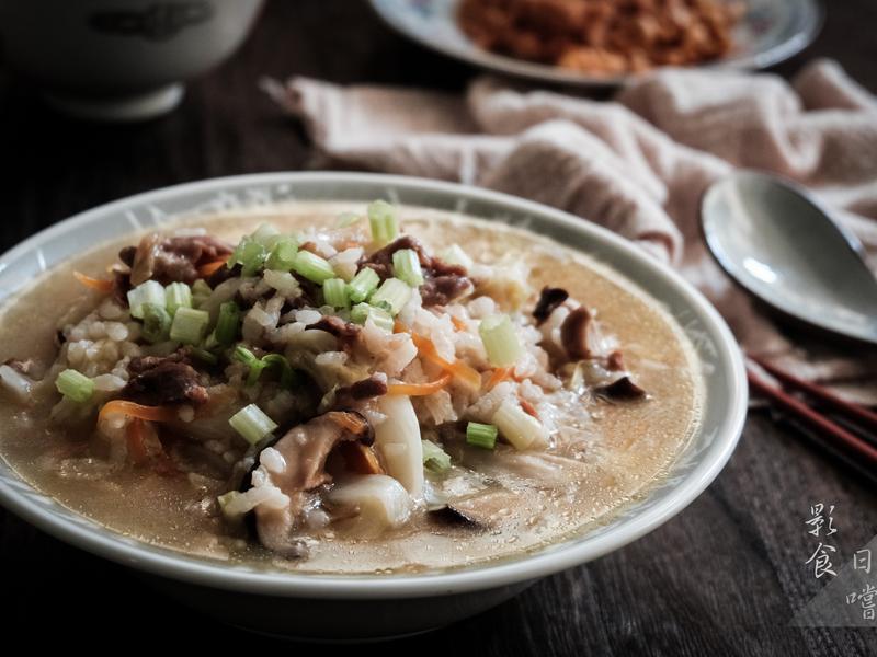 古早味高麗菜肉絲鹹粥 - 週末一早的活力
