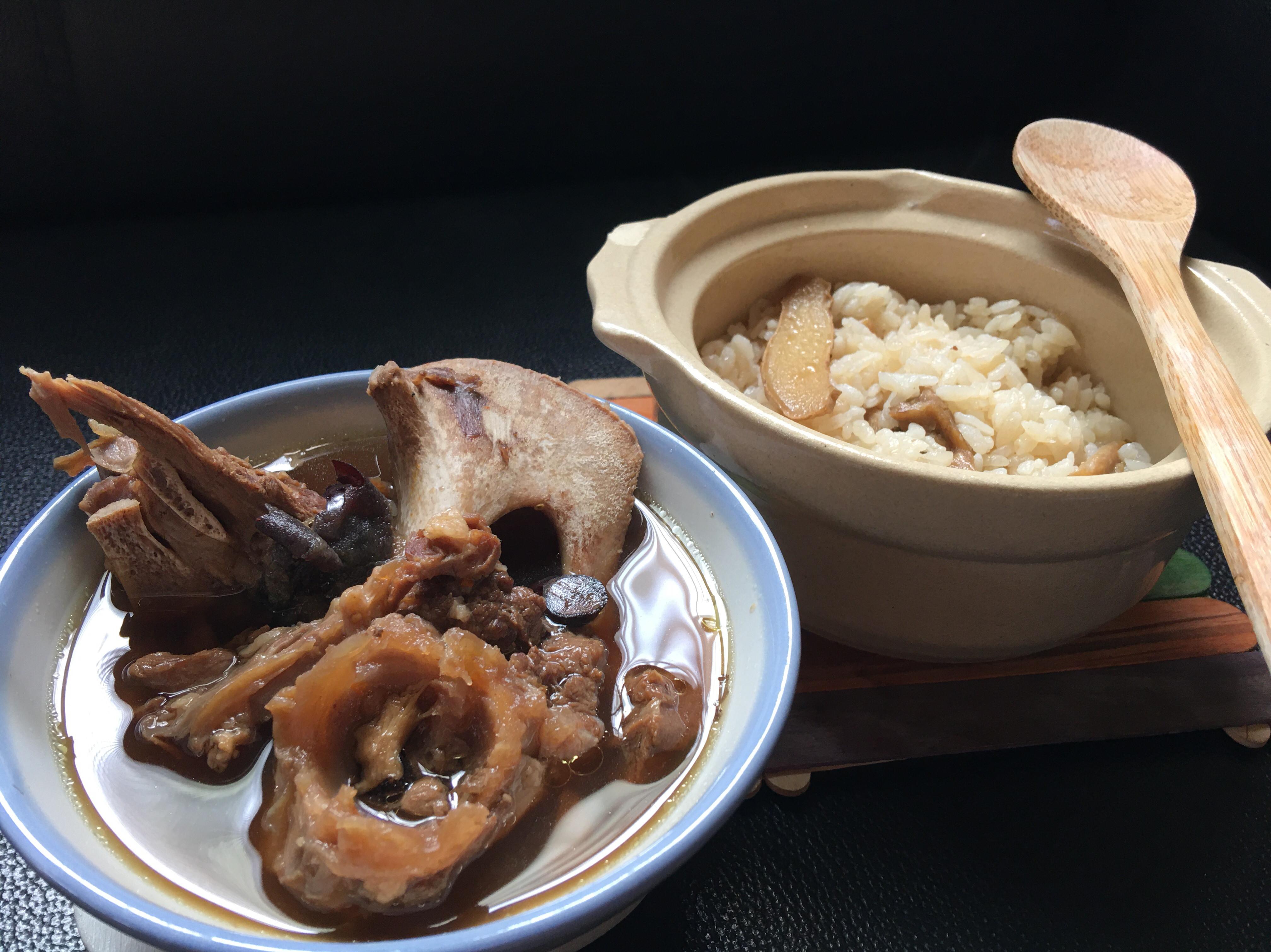 麻油飯➕藥膳羊肉湯