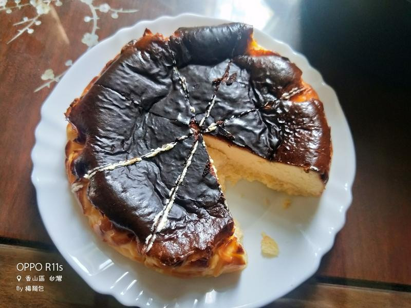 氣炸巴斯克蛋糕